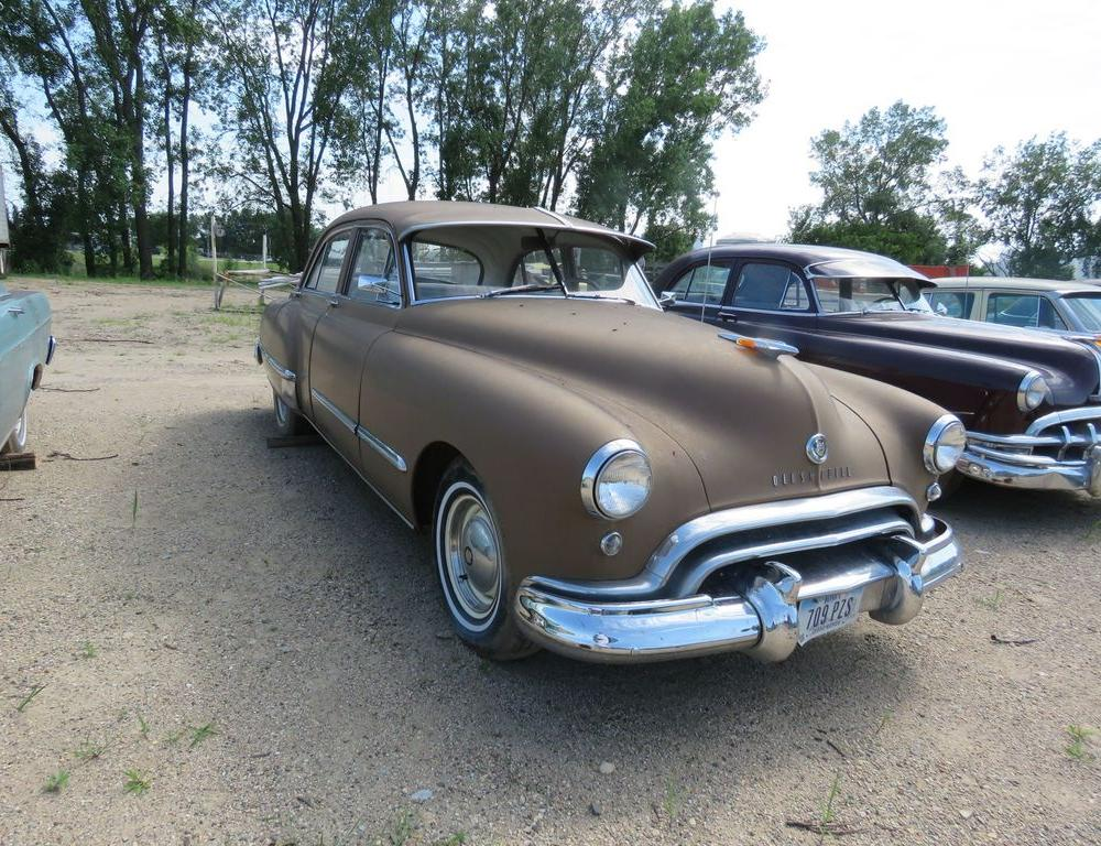 1948 Oldsmobile 98 4dr Sedan | Collector Cars Antique Cars Antique ...