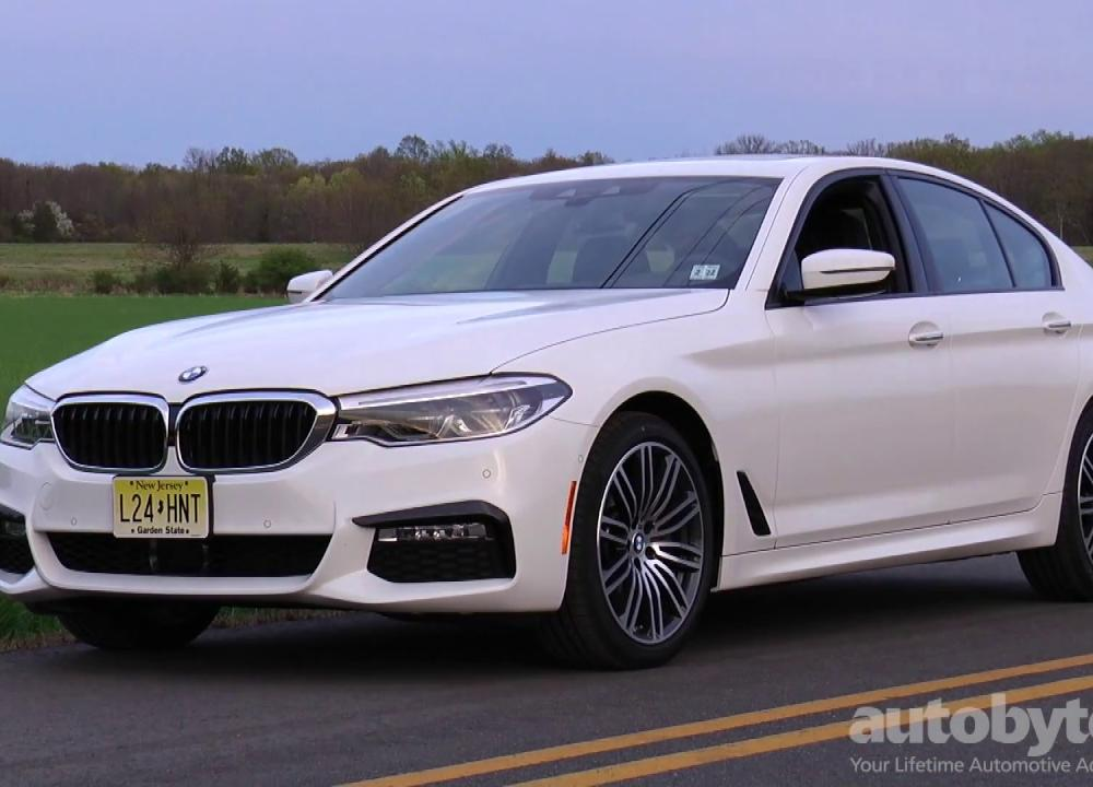 2017 BMW 540i xDrive Test Drive Video Review - YouTube