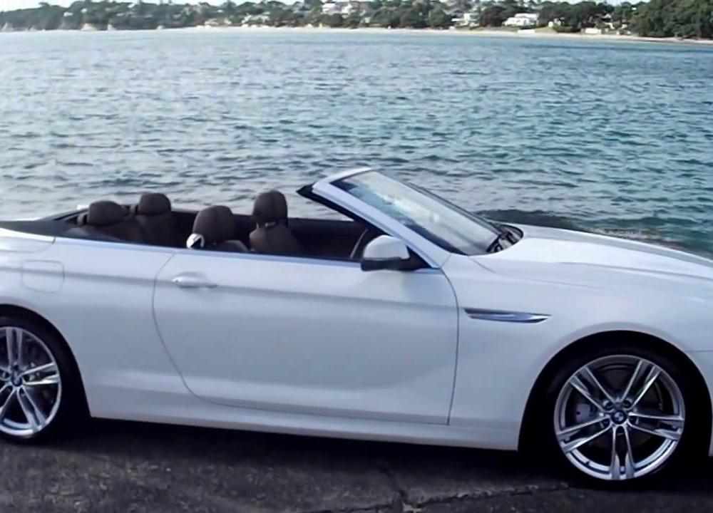 2014 BMW 640i Convertible Soft-top - YouTube