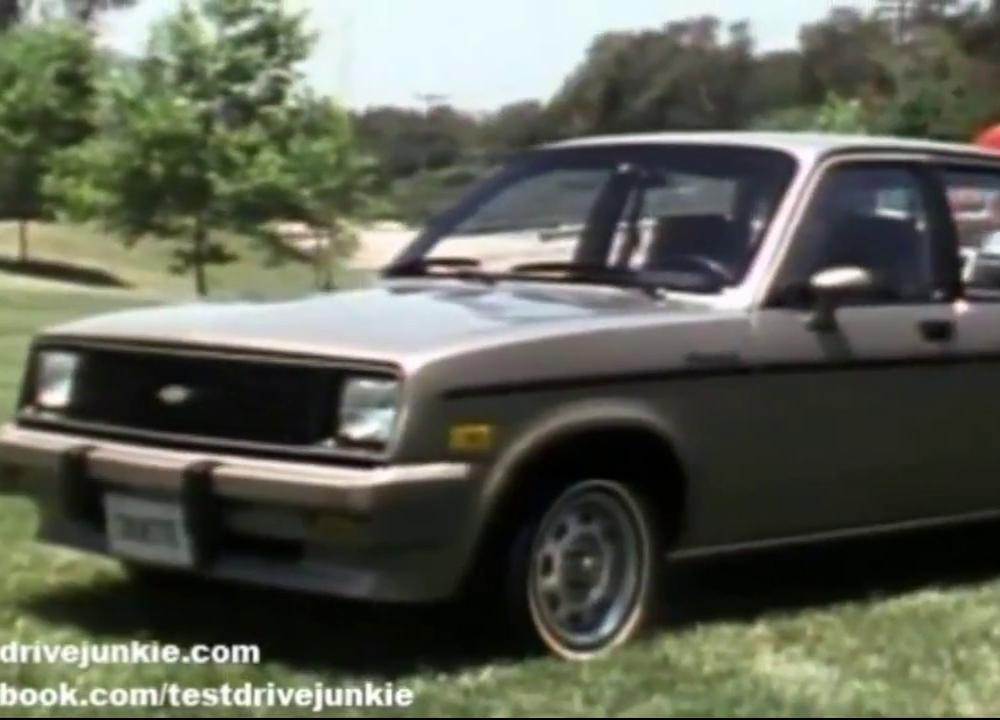 Chevrolet Chevette 1983 model year promotional film - YouTube