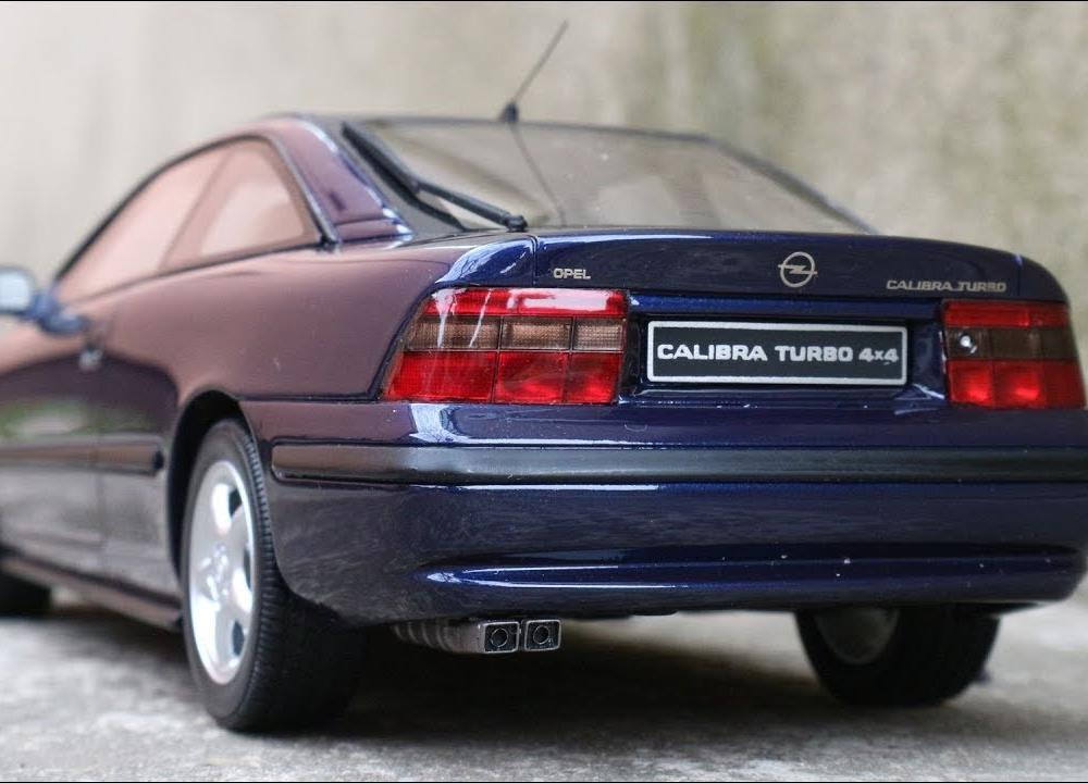 1:18 Opel Calibra Turbo 4x4, blue - Otto-mobile [Unboxing] - YouTube