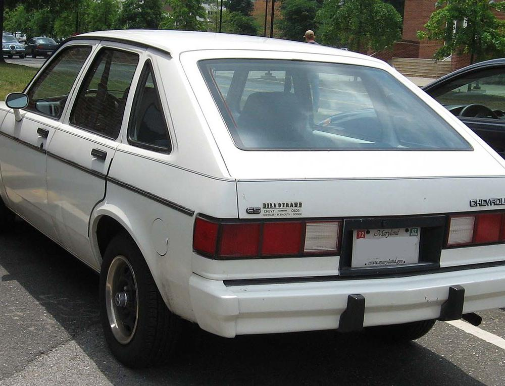 Chevrolet Chevette - Simple English Wikipedia, the free encyclopedia