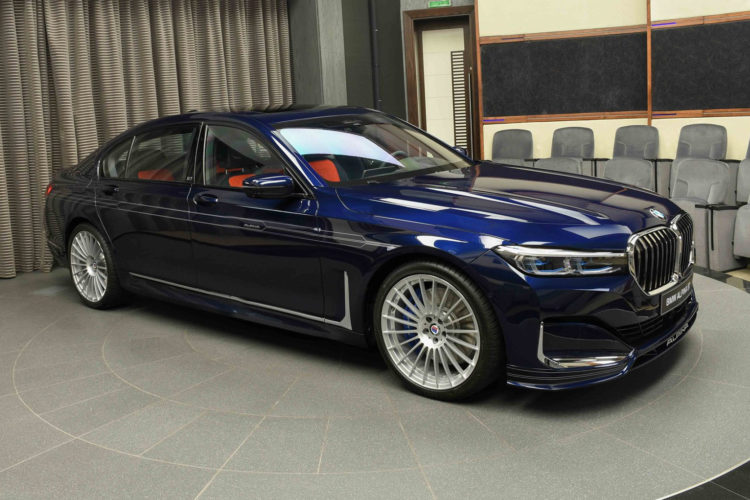 BMW Alpina B7: Eleganter Luxus mit 608 PS in Tansanitblau