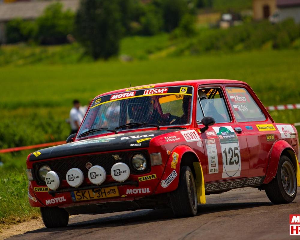 File:Piotr Kiepura - Michał Galle Fiat 128 Abarth Rally , Rajd ...