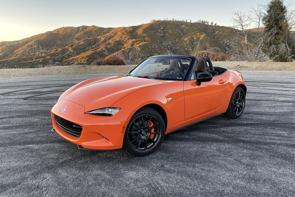 2019 Mazda MX-5 Miata 30th Anniversary Edition quick drive review ...