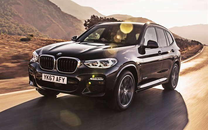 Download wallpapers BMW X3 30d, F25, road, 2019 cars, crossovers ...
