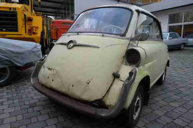 BMW Isetta 600 im Originalzustand - Topseller Oldtimer Car Group.
