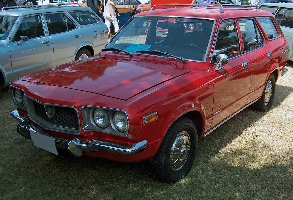 1972 Mazda RX-3 Wagon front 3q | Ate Up With Motor | Flickr
