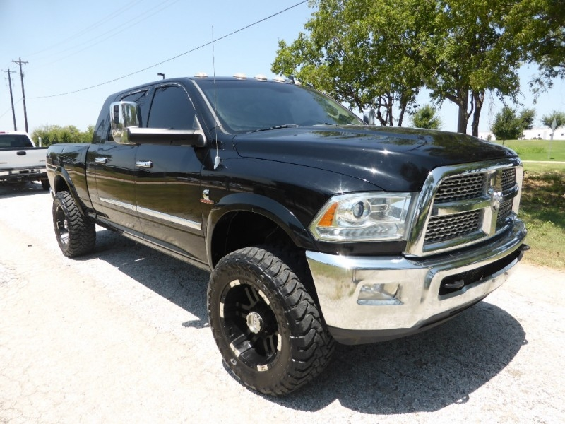 2013 DODGE Ram 2500 4WD Mega Cab Laramie CUMMINS LIFTED CUSTOM ...