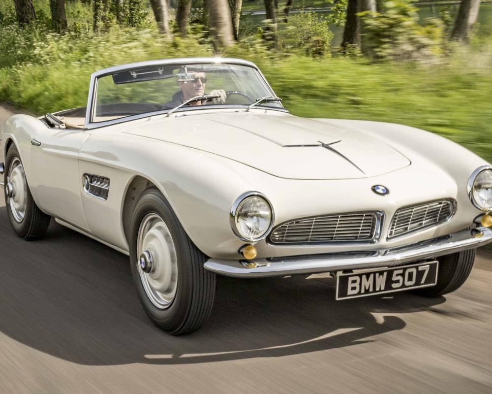 BMW 507 review: classic 1950s roadster tested | Top Gear