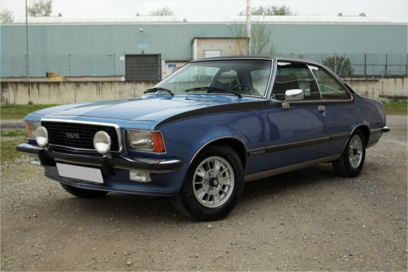 1977 Opel Commodore GS/E Coupé is listed Såld on ClassicDigest in ...