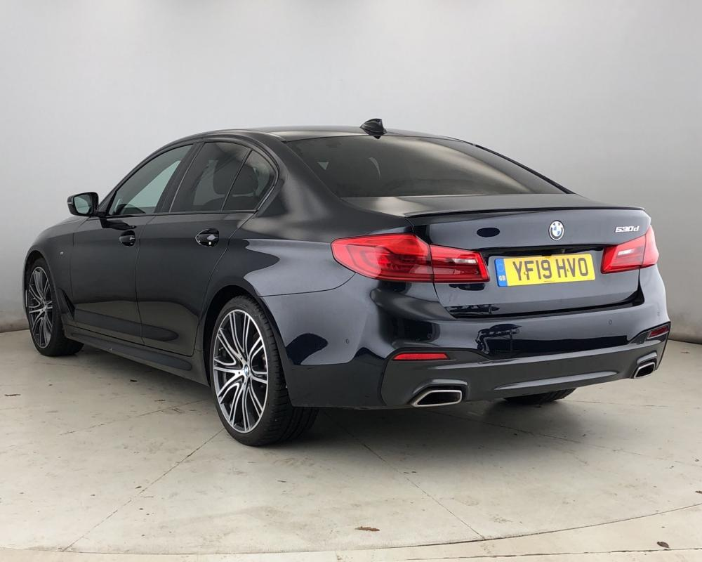 Used BMW 5 Series 530d M Sport Saloon (YF19HVO) | Halliwell ...
