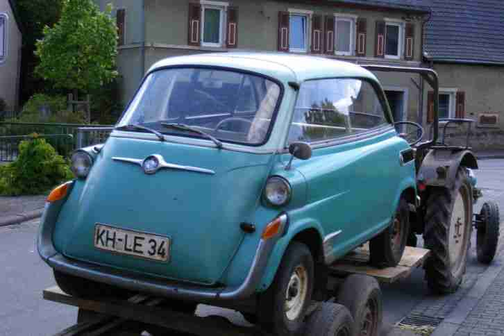 BMW Isetta 600 aus 1.Hand - Topseller Oldtimer Car Group.