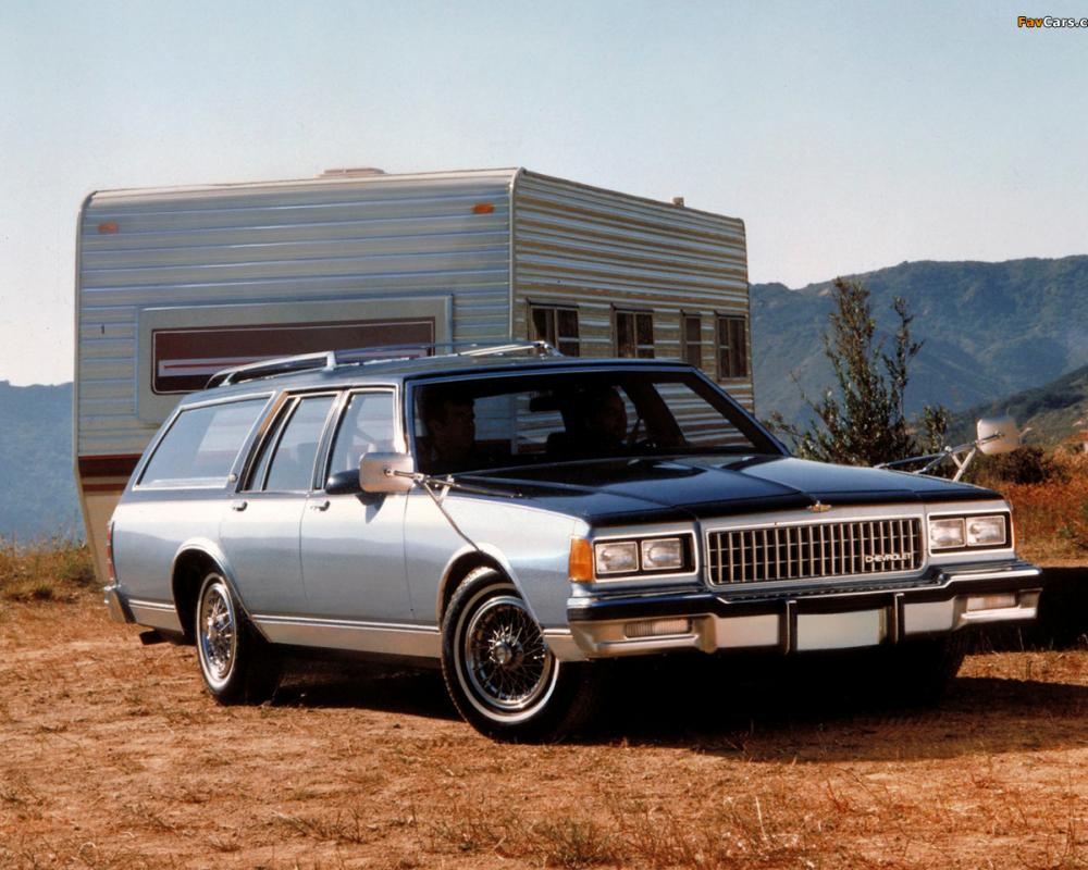 Chevrolet Caprice Estate Wagon 1986 wallpapers (1280x960)