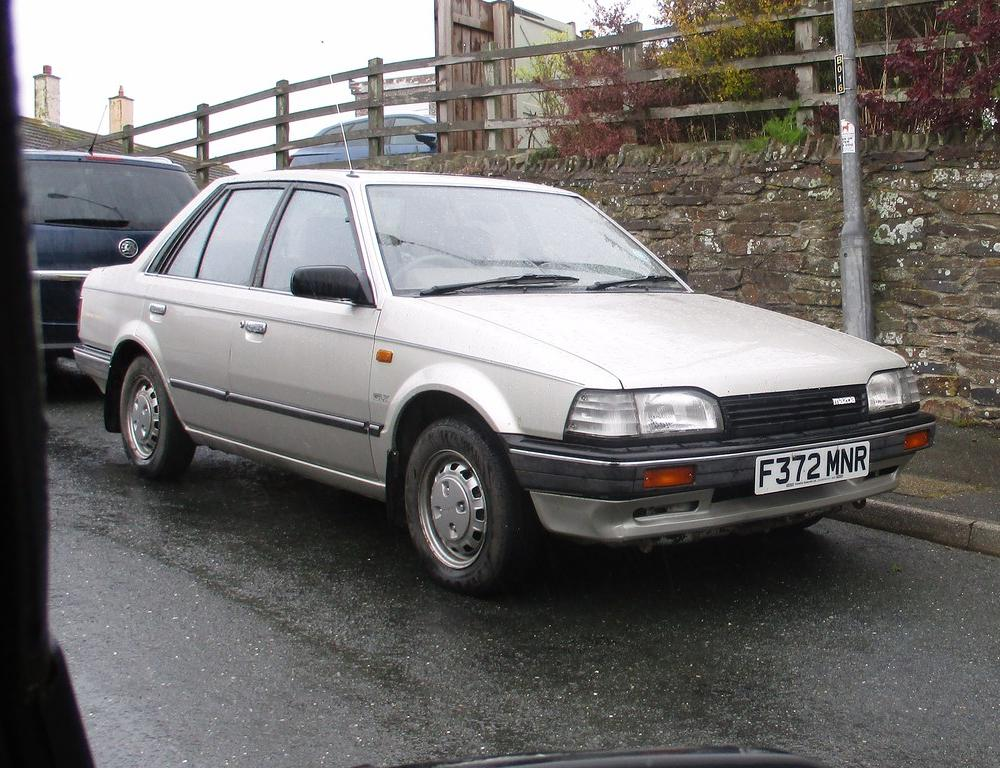 Mazda 323 GLX | 1989 car with 83,000 miles at the last MOT. | Neil ...