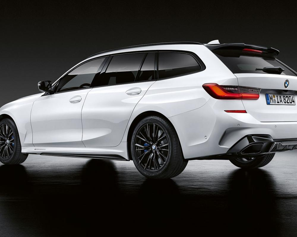 New BMW 3-series Touring: M Performance parts for the fast estate ...