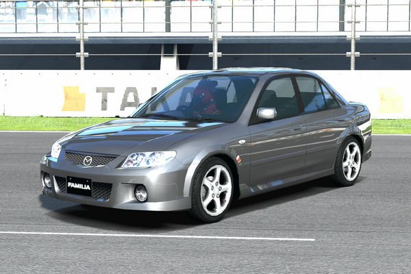 View of Mazda Familia Sport 20. Photos, video, features and tuning ...