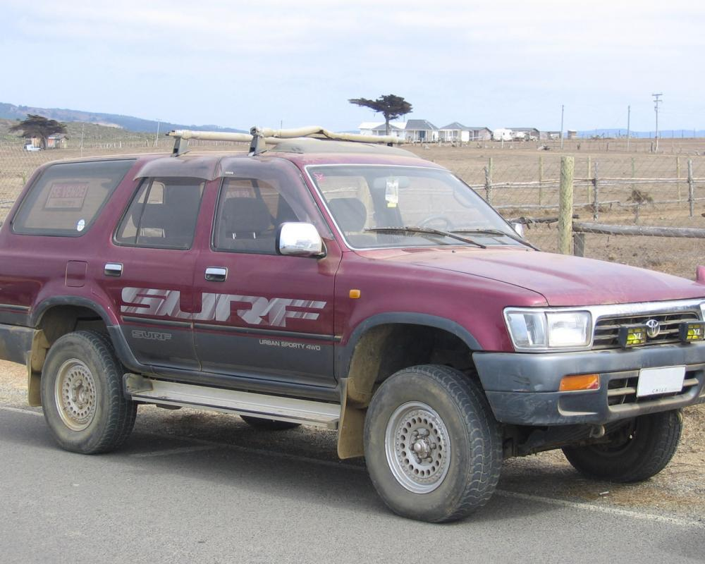 Toyota 4Runner SSR-X Surf – Chile