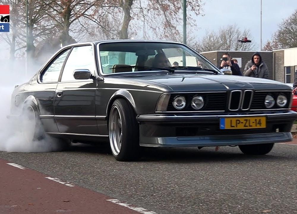 1200HP BMW 635 CSi with 7675 Precision Turbo - Burnouts, Flyby ...