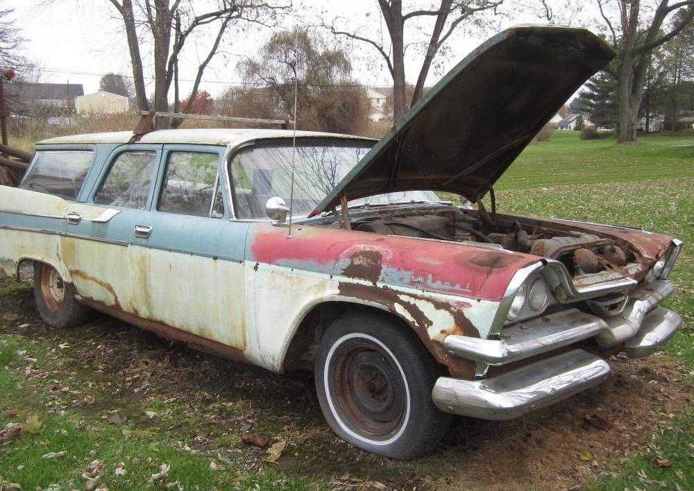 Parts Car Or Project? 1957 Dodge Sierra Wagon | Dodge, Wagon ...