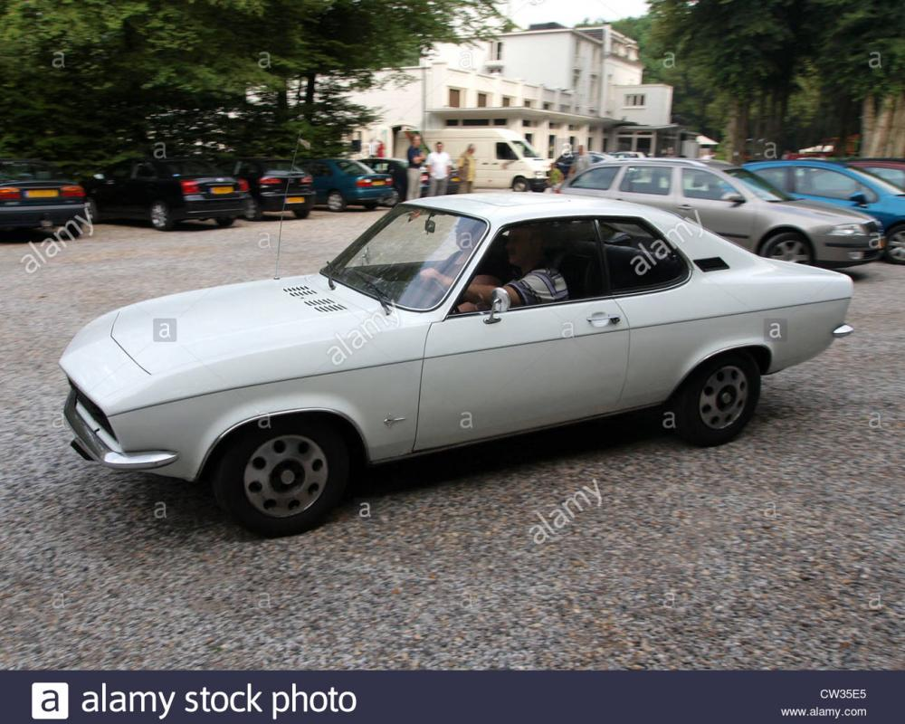 1972 Opel Manta Stock Photo: 49857309 - Alamy