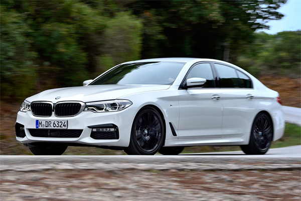 BMW 5-series European sales figures