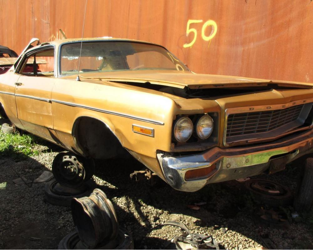 Junkyard Treasure: 1973 Dodge Polara Custom Coupe