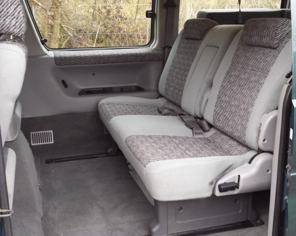 Mazda Bongo Camper van interior (middle) (With images) | Mazda ...