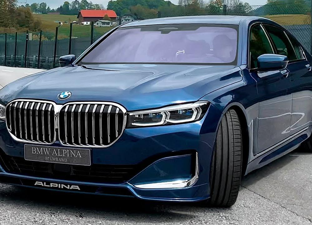 2020 BMW Alpina B7 - Wild Luxury Sedan! (4k) - YouTube