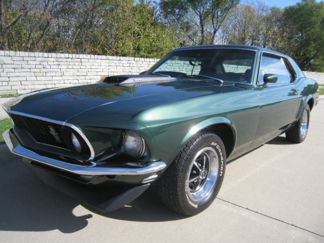 1969 Ford Mustang GT 351 V8 H-code w/ Powersteering & Power Disc ...