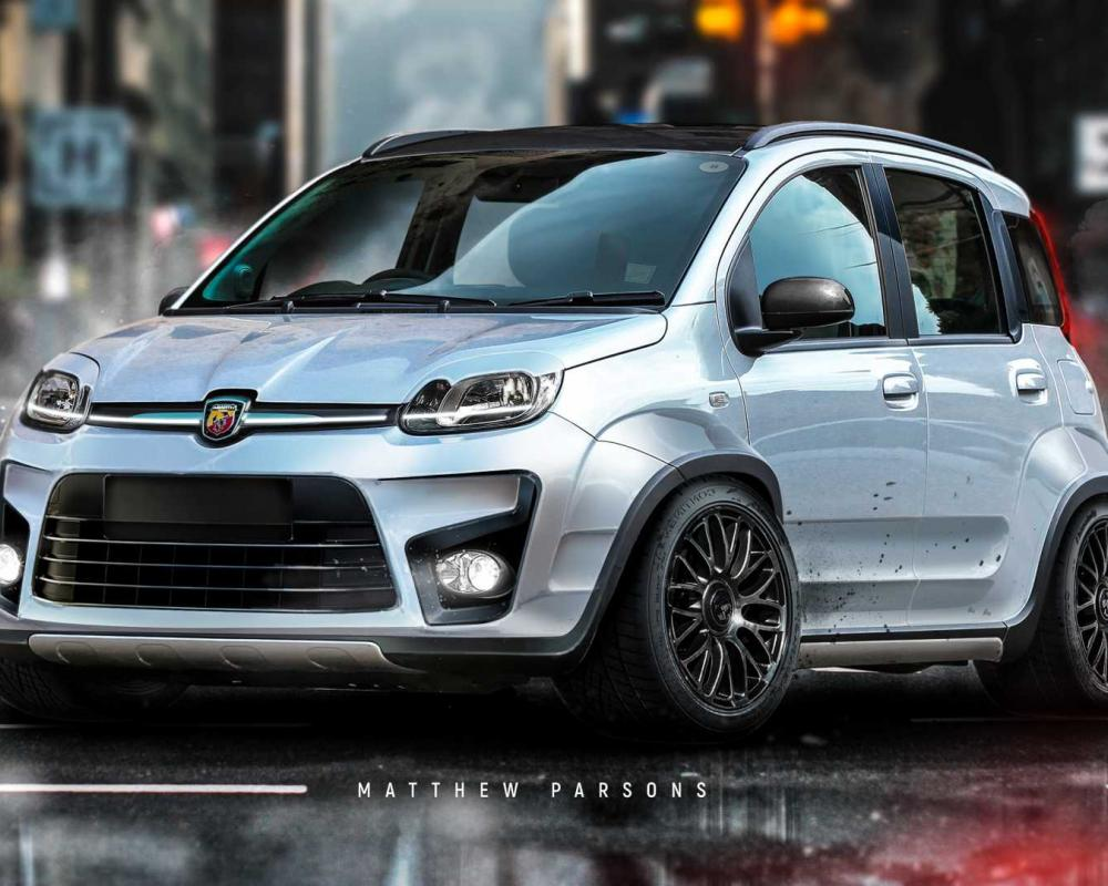 Fiat Panda Envisioned As Tiny Hot Hatch