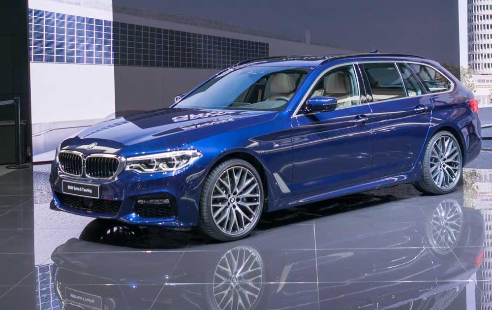 Live from Geneva: First pictures of the BMW 5 Series Touring