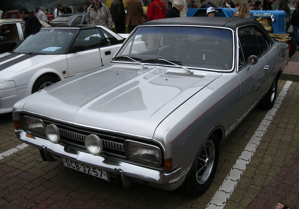 Opel Commodore GS Coupé, 1968 [Auta5P ID:10887 GER]