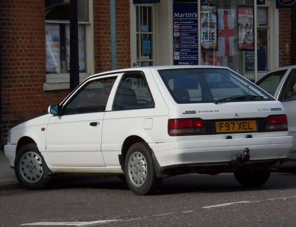 1989 MAZDA 323 1.3 JAVELIN SX HATCHBACK | A car which has ju… | Flickr