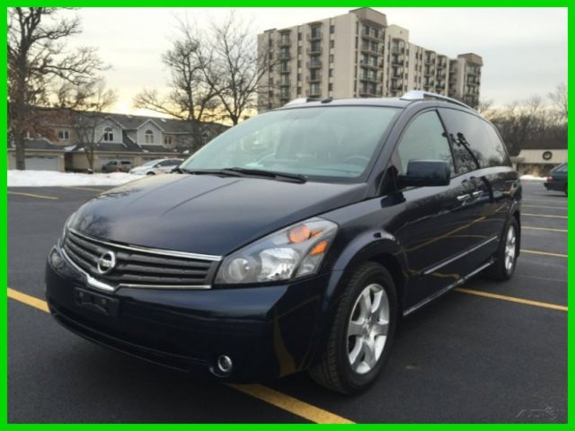 09 Nissan Quest 3.5 SE Navi Moonroof Leather Sky View Roof Dual ...