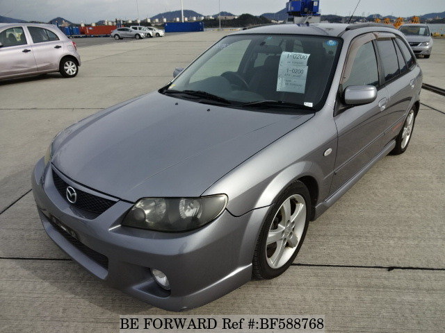 Used 2003 MAZDA FAMILIA S-WAGON SPORT 20 SPECIAL/GH-BJFW for Sale ...
