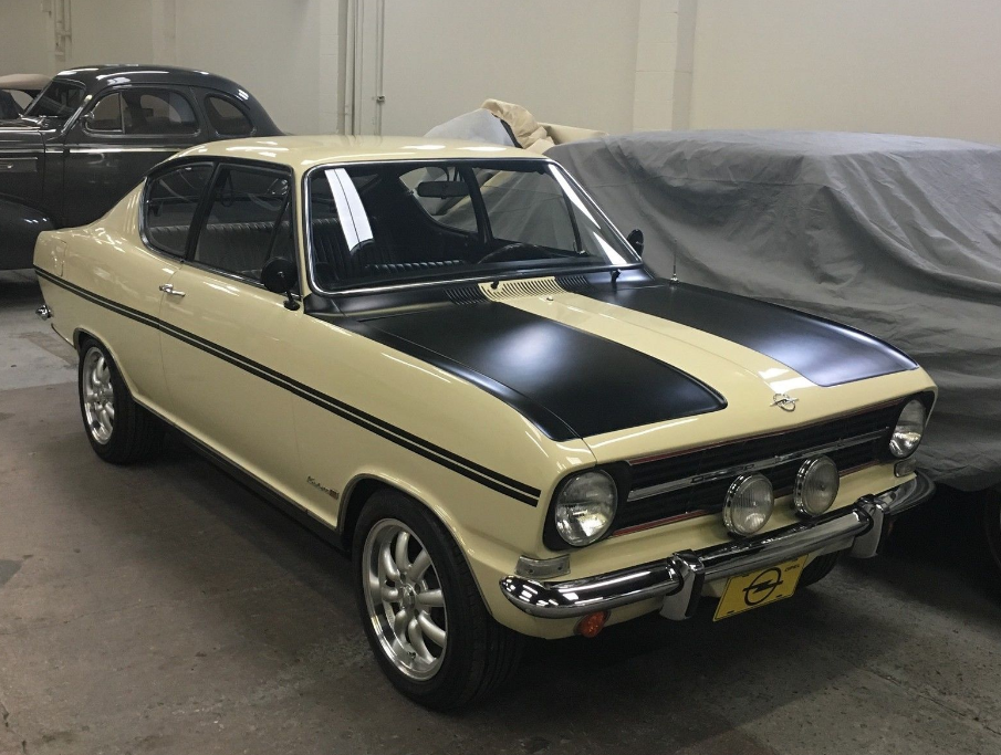 Sharp Restoration: 1967 Opel Kadett L Kiemencoupe in California
