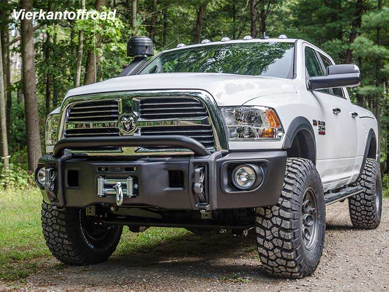 Vierkant Offroad - AEV winch bumper with TÜV for Dodge RAM 2500 ...