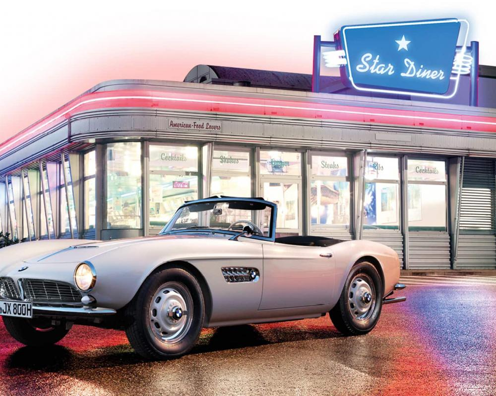 Elvis' BMW 507 comes home