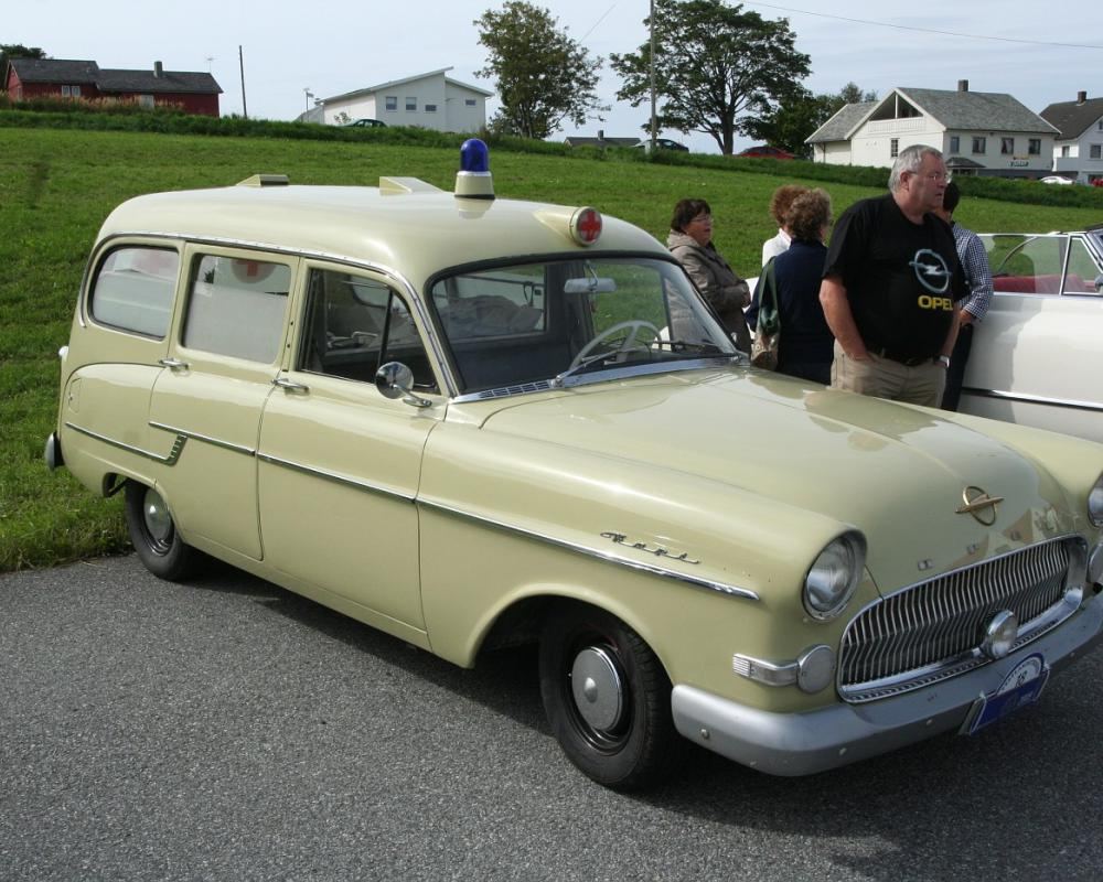 Photo: 1957 Opel Kapitän Ambulance, Owner Liv Kolskår IMG 9236 ...