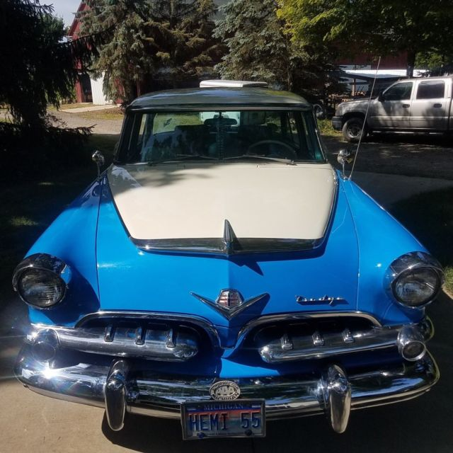 1955 DODGE CUSTOM ROYAL- 270 HEMI- in outstanding close to ...
