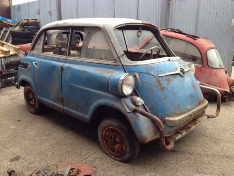 1957 BMW Isetta is listed Sold on ClassicDigest in Astoria by ...
