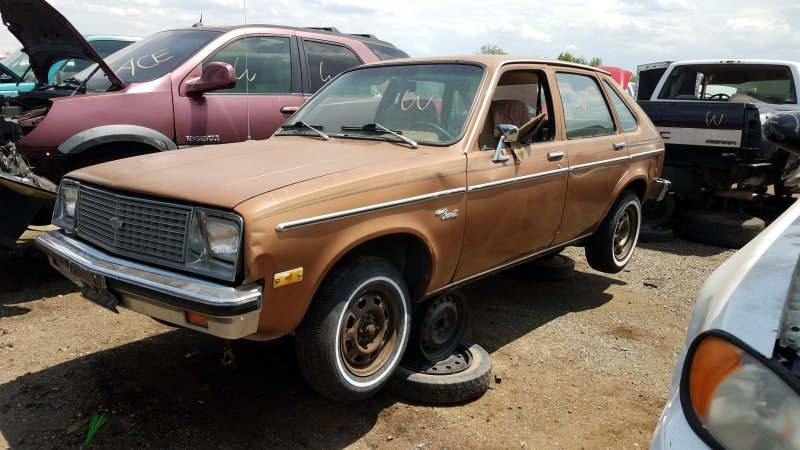 Junkyard Gem: 1979 Chevrolet Chevette four-door hatchback | Autoblog
