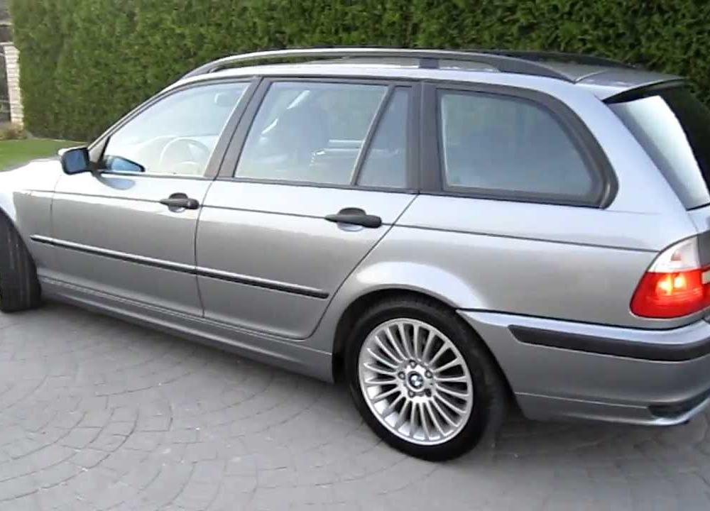 BMW 320d Touring for sale 2005 - YouTube