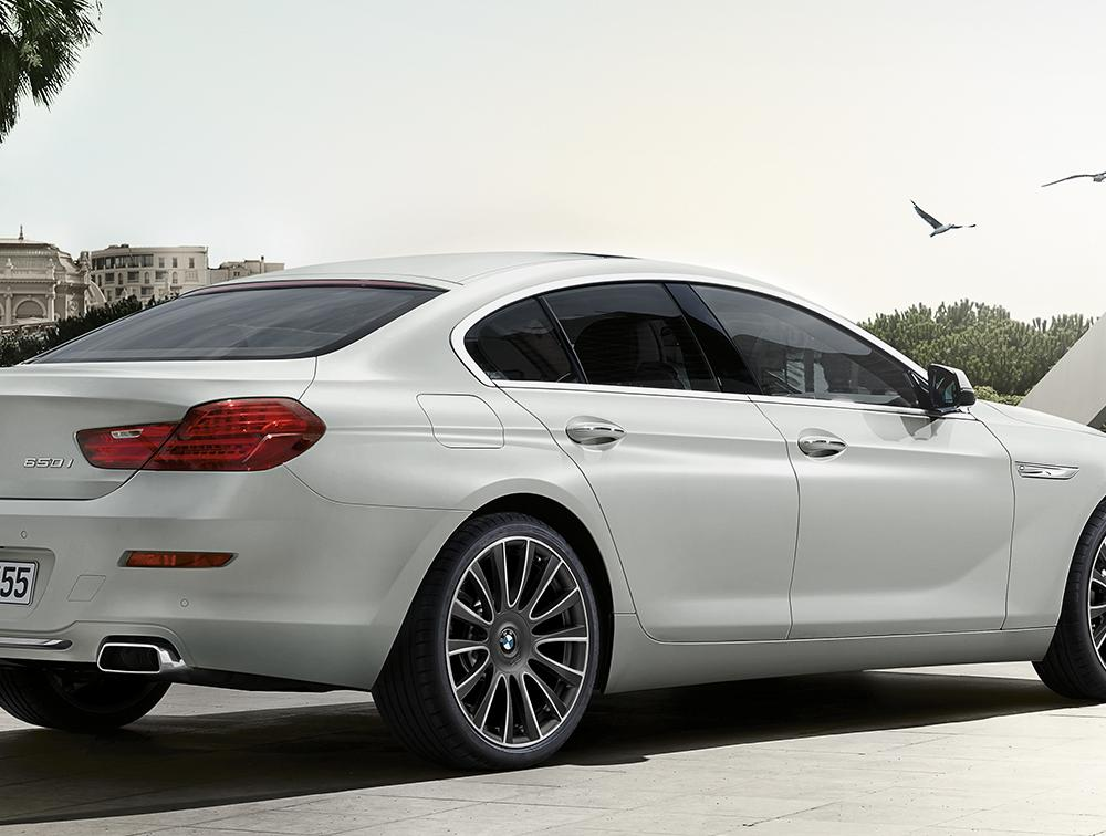 BMW 6 Series Gran Coupé : Equipment