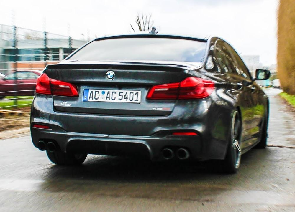 AC SCHNITZER Bmw 5 G30 | Accelerations, sounds, ... - YouTube
