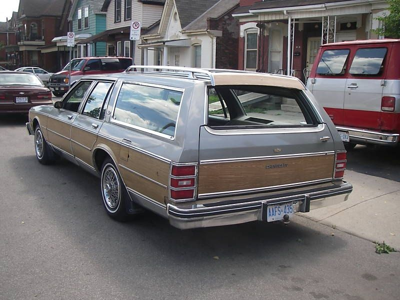 1984 Chevy Caprice Estate Wagon - This was the last family wagon ...