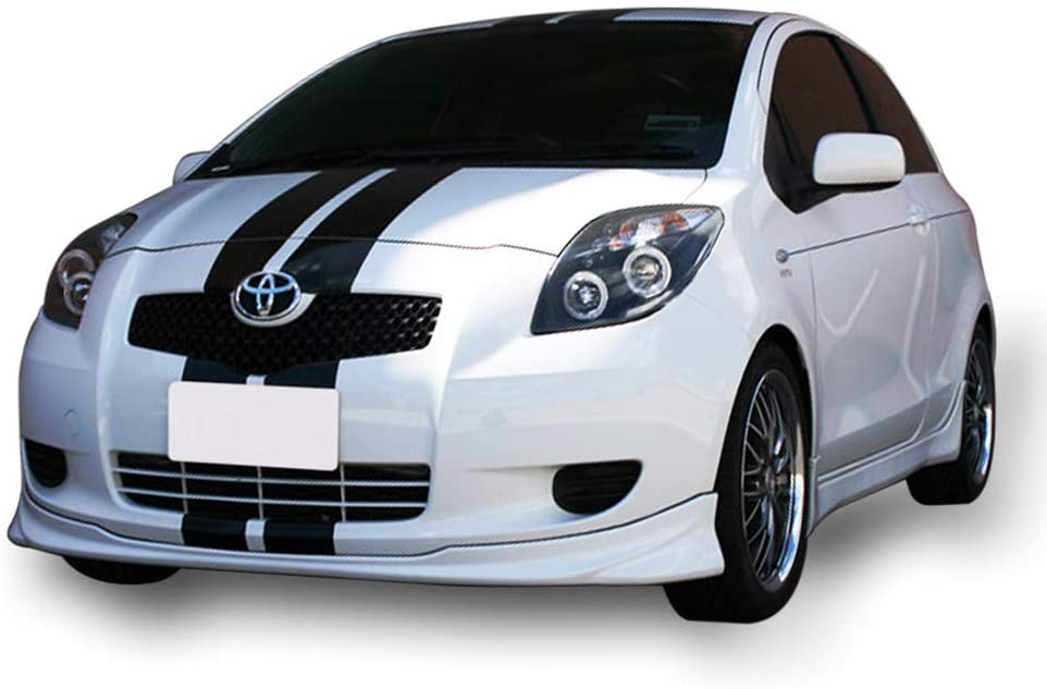 Full Stripe Kit Sticker Decal Graphic Compatible with Toyota Yaris ...