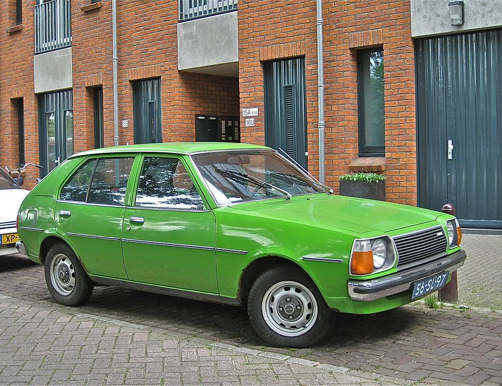 56-SL-97 MAZDA 323 1300 ES, 1977 | Another typical 70s passe… | Flickr