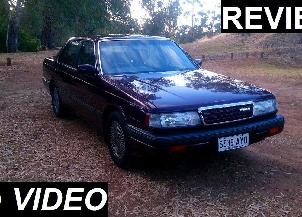 1990 Mazda 929 V6i Review - YouTube